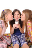 Milk drink party Royalty Free Stock Image