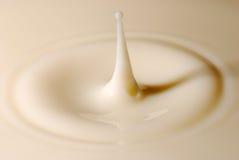 Milk droplet Royalty Free Stock Image