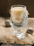 Milk or egg liquor Royalty Free Stock Images