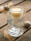 Milk or egg liquor Royalty Free Stock Photo