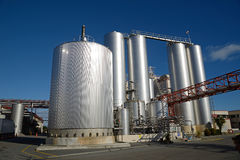 Milk factory Royalty Free Stock Images