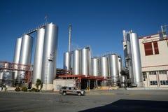 Milk factory Royalty Free Stock Image