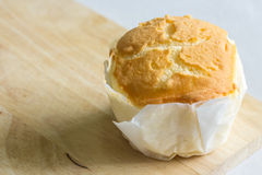 Milk flavor soft cake Stock Photo