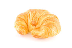 Milk flavored croissant Stock Photo