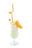 Milk fruit cocktail Stock Images