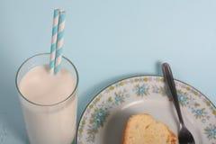 Milk  fun  Royalty Free Stock Image