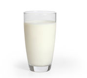 Milk in the glass Stock Photo