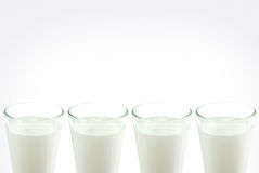 Milk glass Stock Images