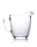 Milk glass jug Royalty Free Stock Photography