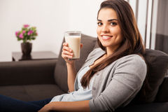 Milk is good for you Stock Photo
