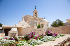 Milk Grotto church in Bethlehem, Palestine Royalty Free Stock Photo