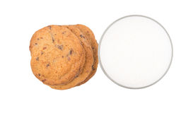 Milk And Home Made Cookies III Stock Photo