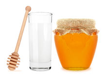 Milk and honey Stock Image