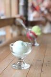 Milk ice cream Stock Images