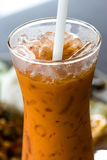Milk ice tea Stock Photo