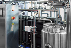 Milk Industry Royalty Free Stock Photo