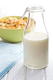Milk in jar Royalty Free Stock Photography
