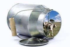 Milk jug Royalty Free Stock Photo