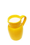 Milk jug. Royalty Free Stock Photo