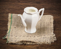 Milk jug Stock Image