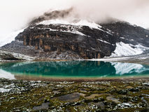Milk lake. In Yading nature reserve (Sichuan, China Stock Photography