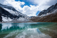 The milk Lake of Yading Park Stock Photography