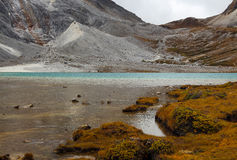 Milk lake in Yading scenic area of China Royalty Free Stock Images