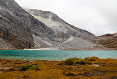 Milk lake in Yading scenic area of China Royalty Free Stock Photo