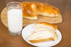 Milk loaf Royalty Free Stock Photo