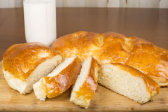 Milk loaf Royalty Free Stock Photography