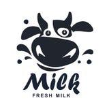 Milk  logo Stock Photography