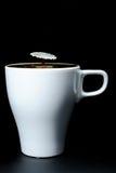 Milk meets Coffee Royalty Free Stock Image