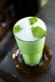 Milk mint tea Royalty Free Stock Image