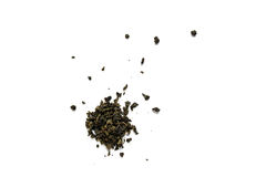 Milk oolong  tea on white background Stock Photography