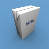 Milk pack Royalty Free Stock Image