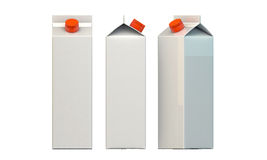 Milk package Royalty Free Stock Images
