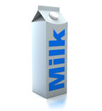 Milk packet Royalty Free Stock Photo