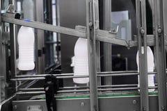 Milk packing machine Stock Images