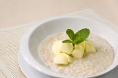 Milk porridge Stock Images