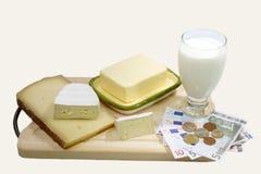 Milk Product Stock Photography