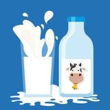 Milk product Stock Photos