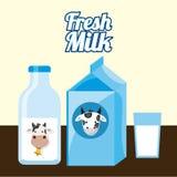 Milk product Royalty Free Stock Photo