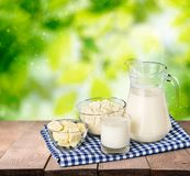 Milk products Royalty Free Stock Photography