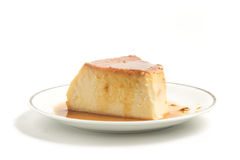 Milk Pudding. Brazilian Flan Royalty Free Stock Image