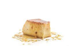 Milk Pudding. Brazilian Flan Royalty Free Stock Image