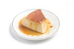Milk Pudding. Brazilian Flan Royalty Free Stock Photos