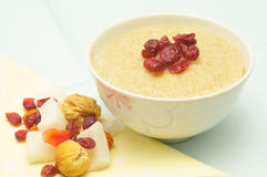 Milk rice with dry fruit Royalty Free Stock Image