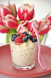 Milk Rice Pudding Stock Images