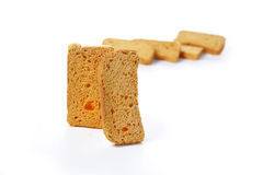 Milk Rusk Royalty Free Stock Image