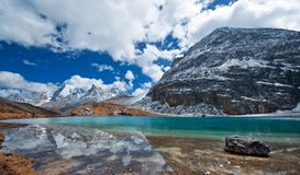 Milk sea of Yading,sichuan Stock Images